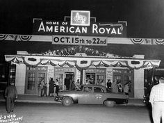Old American Royal Building Entrance – 1950     by Kansas City Public Library, via Flickr