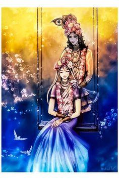 Radha Krishna Holi, Krishna Leela, Radha Krishna Quotes, Cute Krishna, Radha Krishna Pictures, Krishna Photos, Krishna Art, Krishna Drawing, Krishna Painting