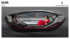 Pininfarina Serena - Autonomous Car Interior on Behance Plus