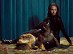 Joan Smalls & Sam Riley Are Smoking for Dazed & Confuseds October Issue by Sean & Seng