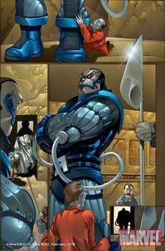 APOCALYPSE Apocalypse Marvel, Iron Man, Smurfs, Superhero, Men, Fictional Characters, Iron Men, Guys, Fantasy Characters