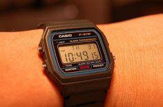 Ainda sou do tempo: ... do Relógio Casio