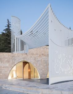 Amir Shakib Arslan Mosque in Lebanon by LEFT Architects