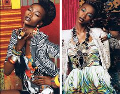 african high fashion | African-inspired high fashion crosses over to home fashion | ethniciti