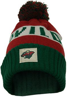 Old Time Hockey Minnesota Wild Merit Cuff Knit Hat  - Shop.NHL.com