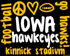 iowa football.  [printable made with picasa]