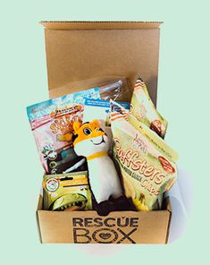 RescueBox - spoil your pet & help animals in need. I just ordered this yesterday and it's shipping today...can't wait to get it!