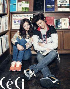 Sung Joon and Jo Boa for Céci