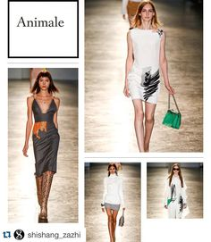 Founded in 1999 @animalebrasil by brothers Jatahy / Una de las principales firmas de #brasil fundada en 1999. #animale #jatahy  #runway #mujer #fashion #fashiongram #style #instafashion #spfw #accessories #white #latinamerica #photo #photographer #luxury #womancrush #love #instafashion