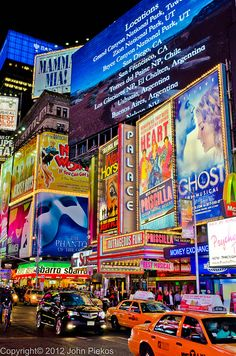 I've always wanted to see times square outside of the rom com movies :O xD Time Square, New York City. Yes Please:) Such An amazing experience!