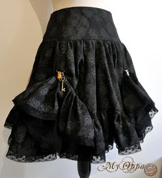 Site officiel My Oppa Steampunk, Creations, Skirts, France, Boutique, Fashion, Skirt, Fashion Ideas, Outfits