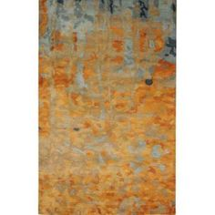 Home Decorators Collection Watercolor Gold 5 ft. 3 in. x 8 ft. Area Rug-1057320530 at The Home Depot