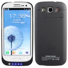 Android App and Tricks: Galaxy S3 extended battery case doubles your batte...