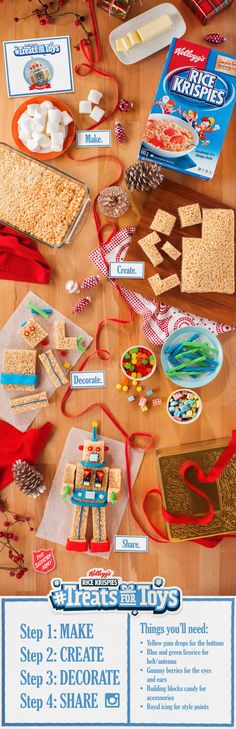 Ever wonder how robots are made? Look no further than your kitchen counter top! Make your own Robo Rob and share your creation using #TreatsforToys.