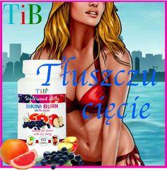 TU KUPISZ Skuteczny spalacz tłuszczu Bikini Burn TiB z jagodą acai, oraz kelpem Pepsi, Burns, Bikinis, Swimwear, Cap, Health, Bathing Suits, Baseball Hat, Swimsuits