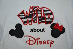 Custom Made to order Personalized Wild about by magicalmemories04, $20.00
