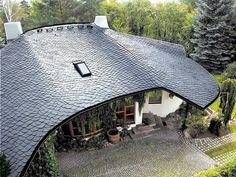 Krycie dzikie dachu z łupka