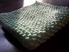 Ravelry: Seed Stitch Baby Blanket pattern by Invisible Insanity