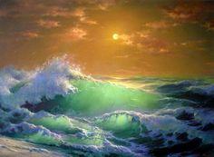 Lindo mar e céu