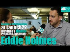 #CMTV speaks to Eddie Holmes – Founder of Launch22 in Tech City!