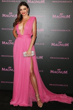 7b7deb545e5 Cannes Film Festival 2015 - Miranda Kerr at the Magnum Pink and Black Party  in Emanuel