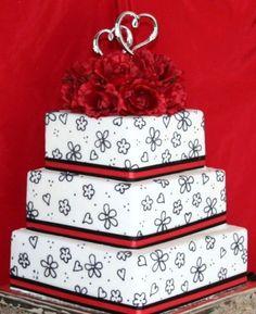 Black & Red CakeCentral.com