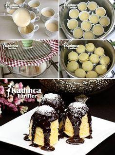 How to Make Lemon Cup Cake Recipe to to Apfelkuchen, Blaubeerekuchen, Butterkuchen, Dreikö New Recipes, Crockpot Recipes, Cooking Recipes, Mousse Au Chocolat Torte, Cheesecake Cupcakes, Homemade Desserts, Iftar, Turkish Recipes, Cupcake Recipes