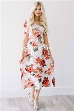 54e82d5af440b 8 Best Conservative Dresses images in 2017   Modest dresses, Cute ...