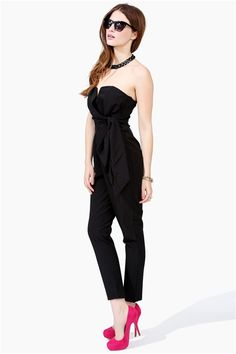 Harem Jumpsuit - Black from Necessary Clothing. Get 8% cash back http://www.stackdealz.com/all/get-all-student-deals/Necessary-Clothing-Coupon-Codes-and-Discounts--/0