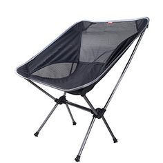 Weanas® Portable Ultralight Collapsible Moon Leisure Camping Chair with Carrying Bag for Outdoor works, Camping, Hiking, Travel, Hunting, Fishing (Silver&Black) Weanas http://www.amazon.com/dp/B00VA10AJY/ref=cm_sw_r_pi_dp_bU5jvb05BYSEY