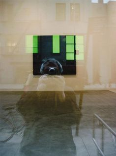 Saul Leiter, Pigment Print, Self Portrait 2005, 13x19 inches