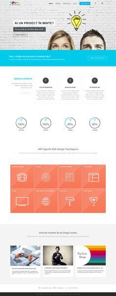 The Website of Uny Agency. www.uny.ro
