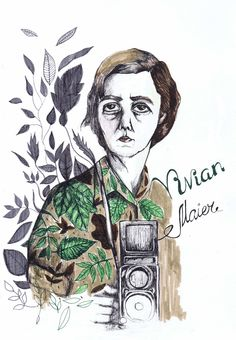 Illustration about Vivian Maier by Svitlana Baydak
