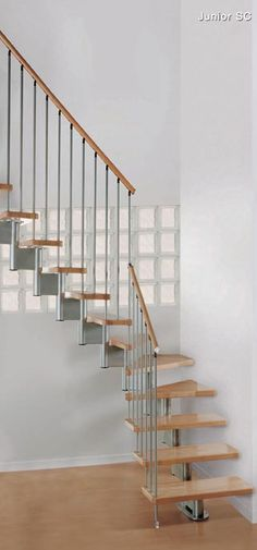 Staircases for Small Spaces | Space saving stairs and staircases for small spaces Loft Conversions ...