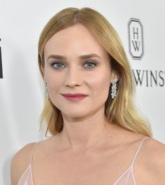 Diane Kruger en bijoux diamants Harry Winston