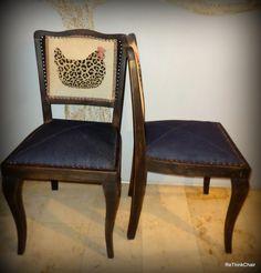 Bürger Paar antike Stühle von ReThink auf DaWanda.com
