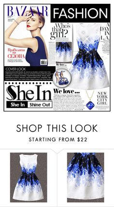"""shein contest"" by samirhabul ❤ liked on Polyvore featuring WithChic and Zara"
