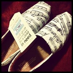 Music note Toms...SOMEONE BUY ME THESE PLEASE <3 <3 <3