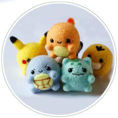 Truslin - DIY Needle Felting Kit Needlecrafts Projects for Felt - Pokémon Pikachu (Easy) #Truslin