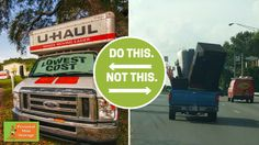 Be smart during your next move- and rent a U-haul from someone you trust!