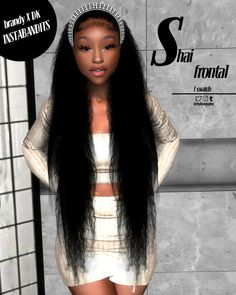 Teen Girl Hairstyles, Black Kids Hairstyles, Sims 4 Cc Kids Clothing, Sims 4 Mods Clothes, Tumblr Sims 4, Mocha Hair, Sims 4 Body Mods, The Sims 4 Skin, Sims 4 Black Hair