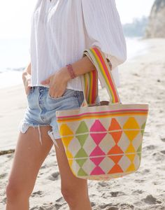 Lauren Conrad Discovered the Coolest Printed Bags via @WhoWhatWearAU