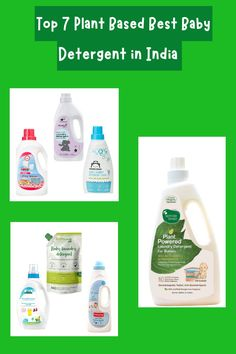 Best Baby Detergent, Baby Laundry Detergent, Product Review, Plant Based, Parenting, India, Group, Board, Modern