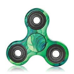 Cheap price KAI-YA Tri Fidget Hand Spinner Camouflage Multi Color 2 Side Clearly Printed EDC Focus Toy for Boys and Girls on sale