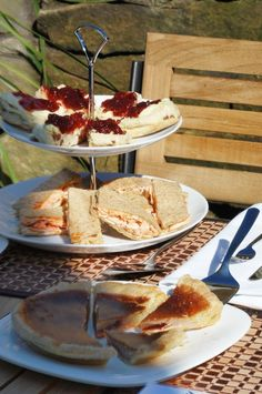 Dovedale Cottage high tea #smoothestdayever