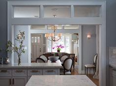 kitchen/dining room transition