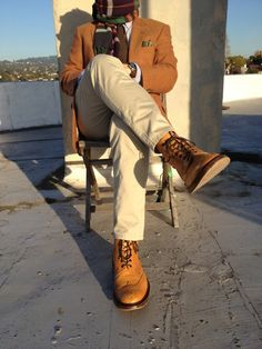 Tricker's Stow Wingtip Boots