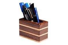 Items similar to Wood pen holder, Business card stand, Universal smartphone stand, Wood paper clip holder for desk, office decor for men on Etsy Wood Pen Holder, Pen Holders, Office Decor, Desk Office, Smartphone Holder, Paper Clip, Business Cards, Woodworking, Wood Work