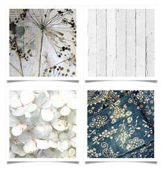 """Indigo & White"" by pippyshouse ❤ liked on Polyvore featuring art"