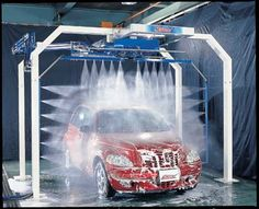 Touchless Car Wash Machine.Can Be Installed In Your Garage.